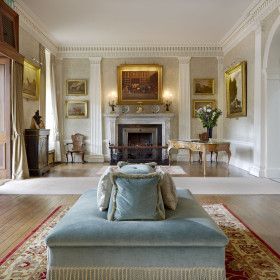 Homely comfort and stately seclusion